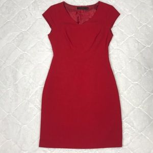 The Limited Red Cap Sleeve Dress (2)